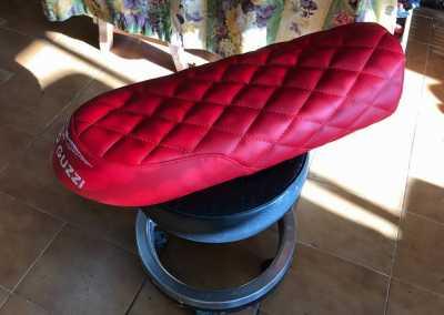 asiento moto guzzi- Tapicería Victorio