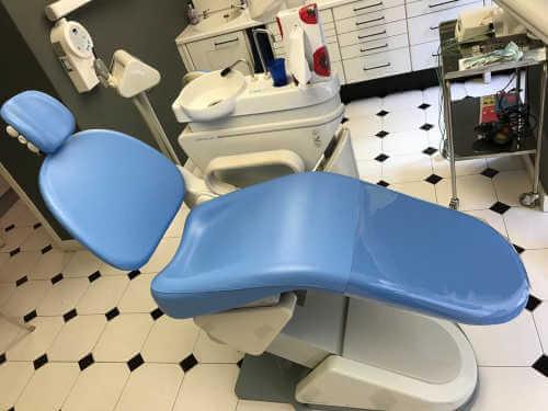 Tapizado de sillón odontólogo- Tapicería Victorio