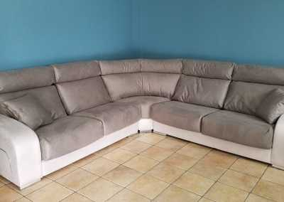 sofa esquinero- Tapicería Victorio